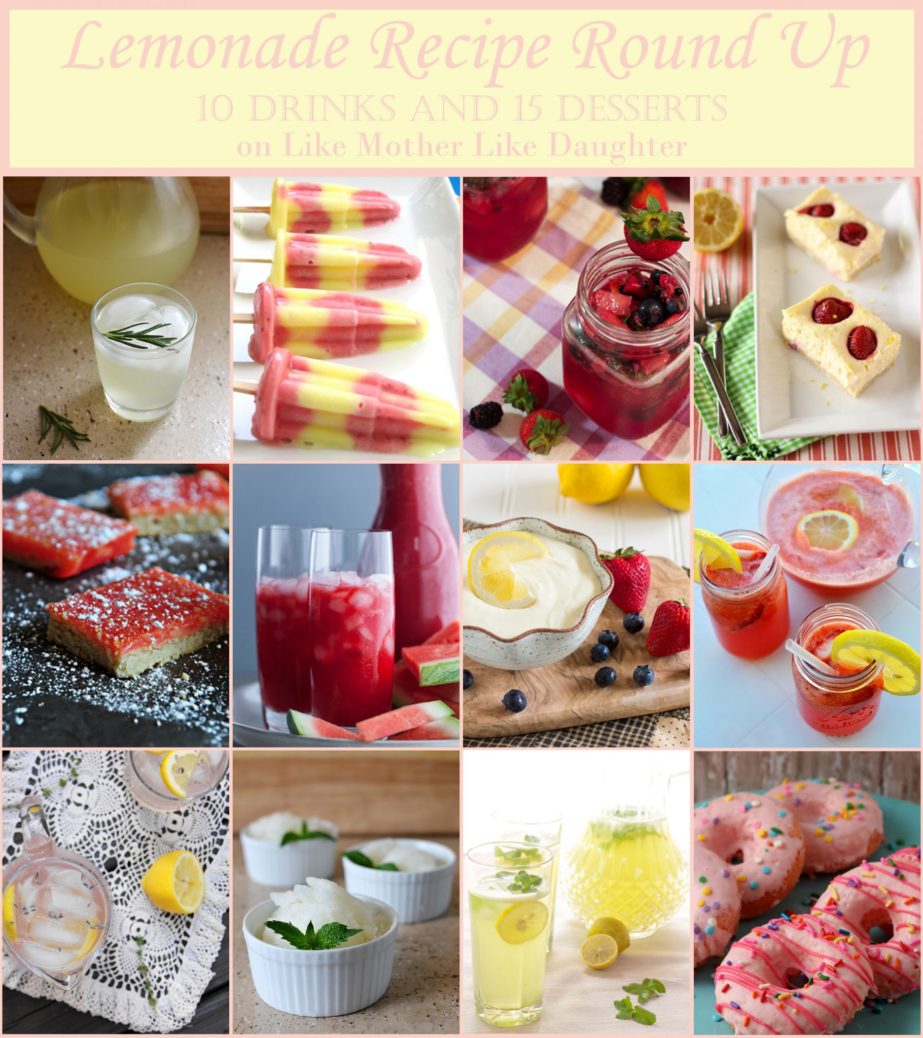 Lemonade Round Up