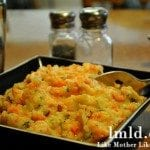Cheesy Cauliflower Carrot Mash