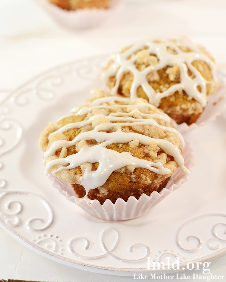 Pumpkin Muffins with Cinnamon Streusel Crumb Topping - These pumpkin ...