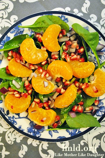Pomegranate Citrus Salad