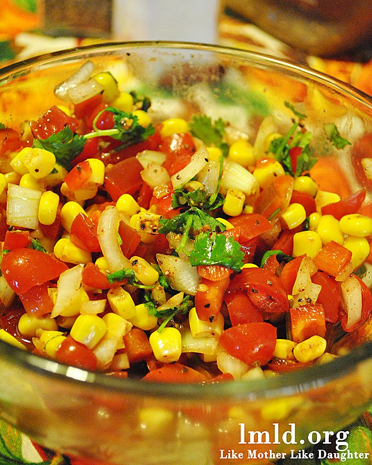Corn Salsa - Like Mother Like Daughter