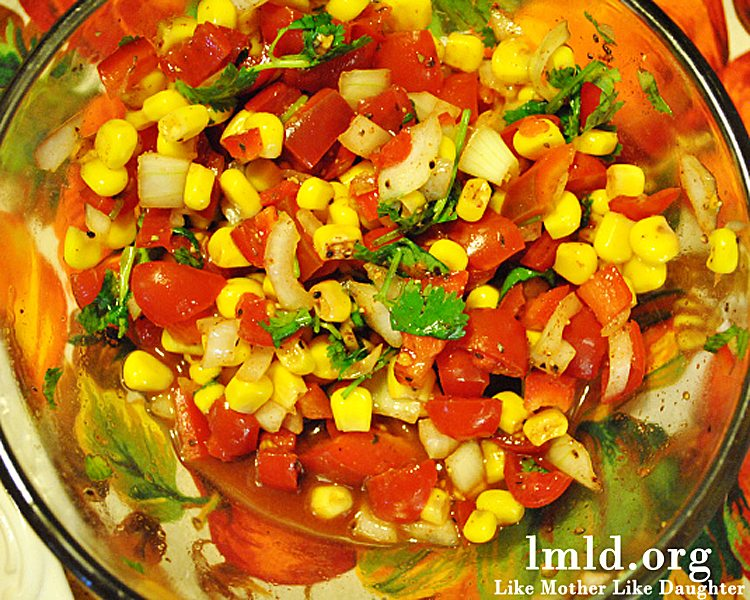 Corn Salsa With Lime Recipe — Dishmaps