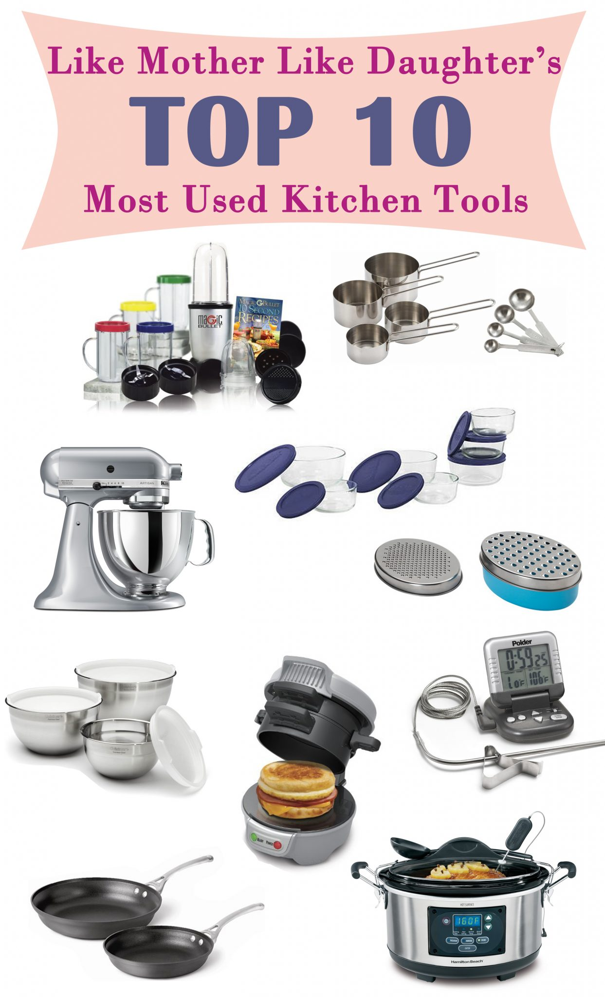 Delicieux Top 10. What Is Your Most Used Kitchen Tool?