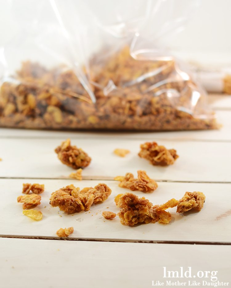Peanut Butter and Honey Granola Bars - Like Mother Like ...