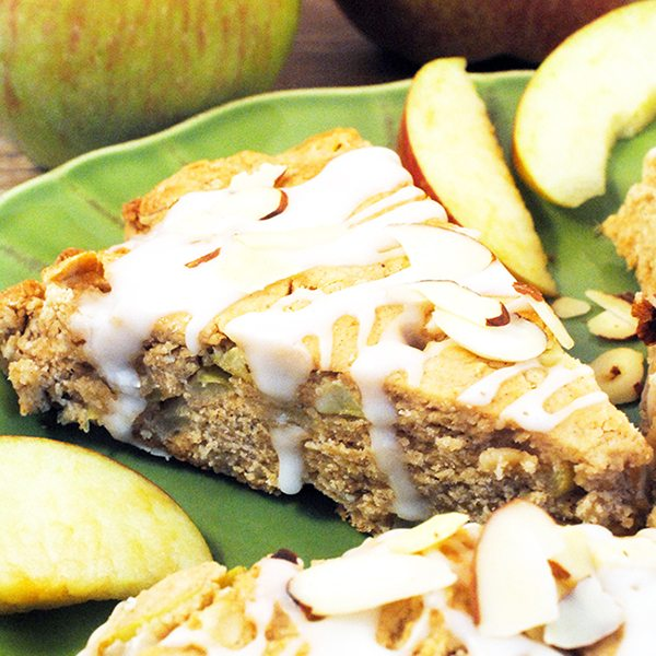 Almond Oatmeal Apple Scones