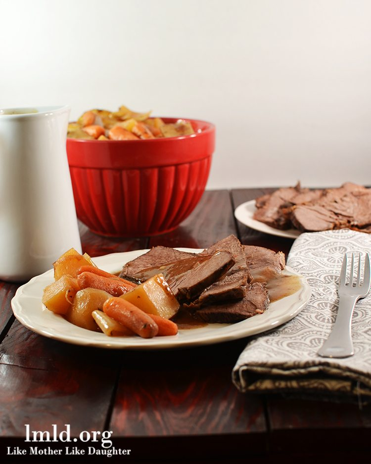 Tavern Style Crock Pot Beef Roast