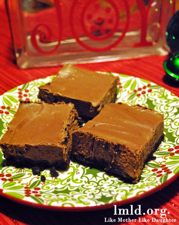 Mint Truffle Squares