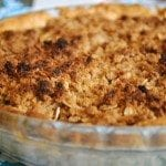 Pineapple Guava Apple Crumb Pie