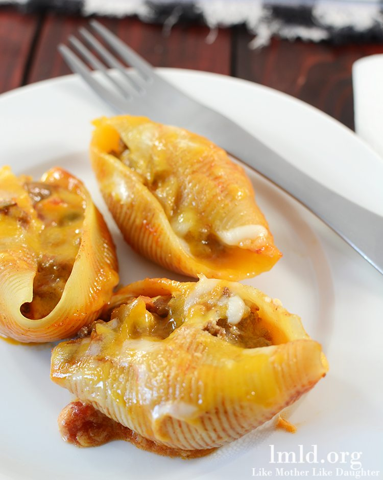 Mexican Stuffed Shells - Like Mother Like Daughter