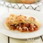 chicken parm pie square