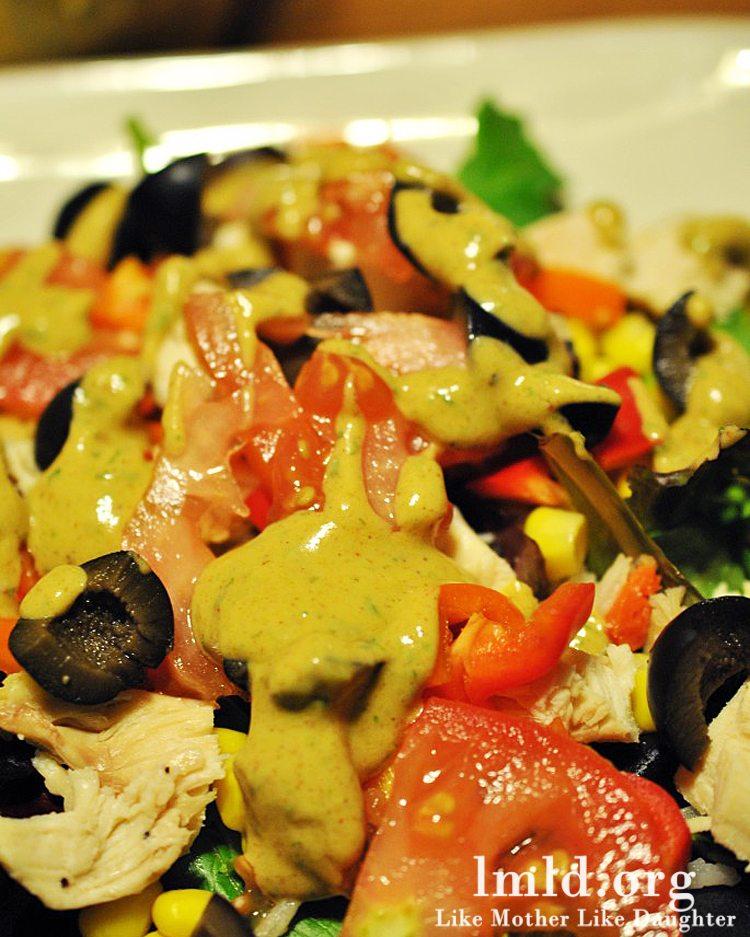 Southwest Chicken Salad - Like Mother Like Daughter