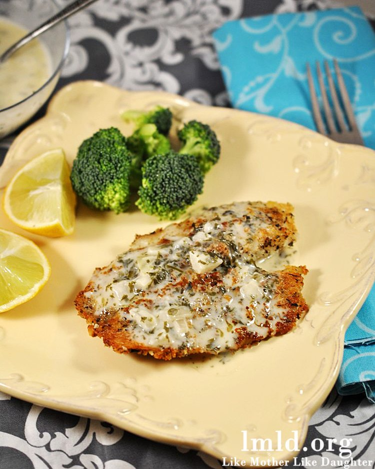 Macadamia Nut Crusted Tilapia - Like Mother, Like Daughter