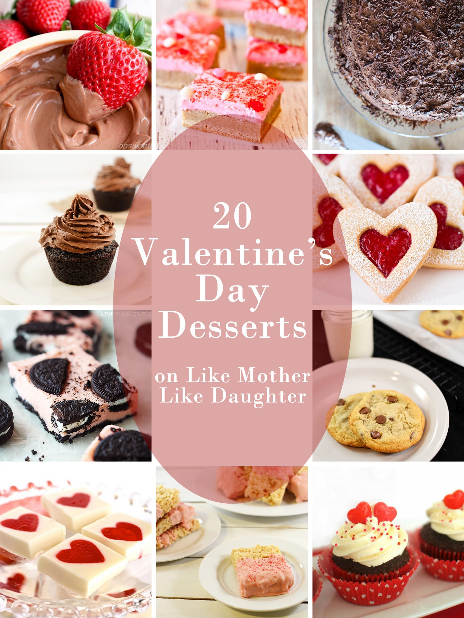 Valentine 39 S Day Desserts Like Mother Like Daughter