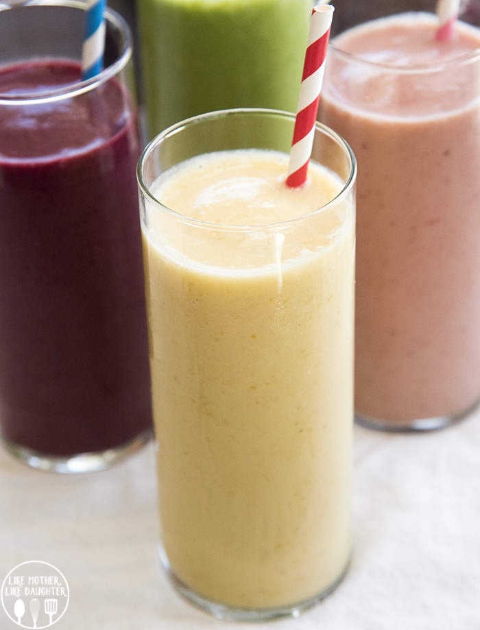 How to make a fruit smoothie that is perfect for any time of day!