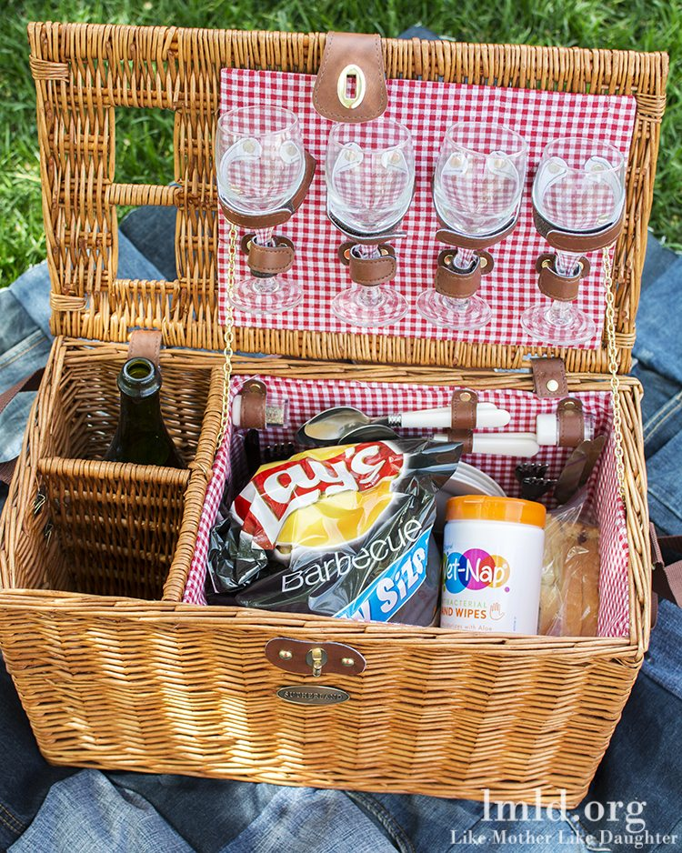 Best Picnic Basket For 2 : Five tips to have the best picnic like mother daughter