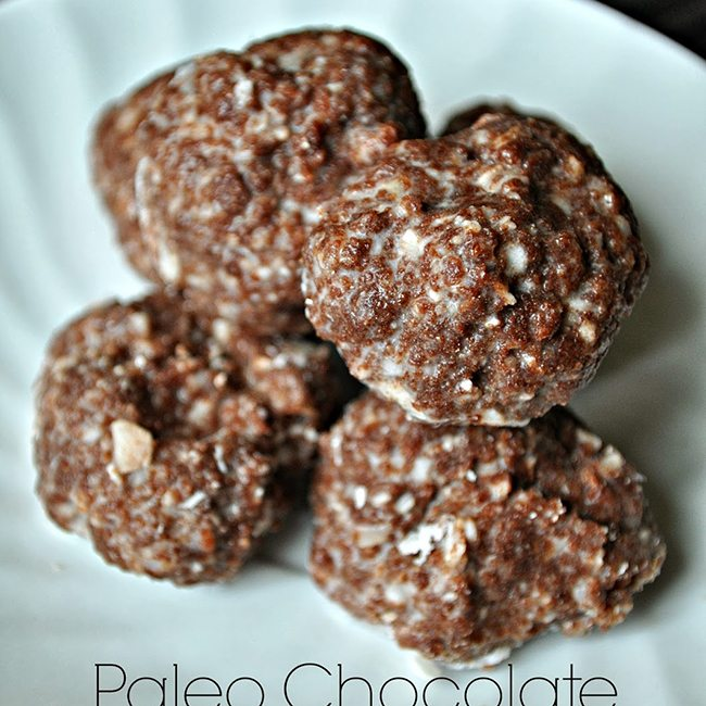 Paleo Chocolate Coconut Macaroons (Guest Post by Courtney from Fry Sauce and Grits)