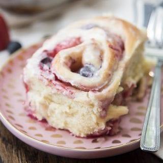 Mixed Berry Sweet Rolls