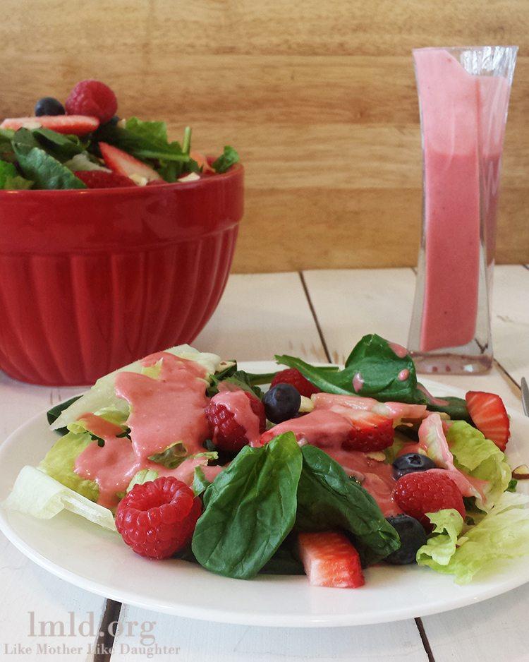 raspberry vinaigrette1