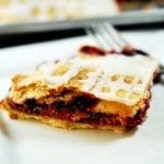Triple Berry Rhubarb Slab Pie