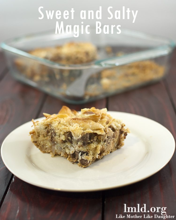 Sweet and Salty Magic Bars