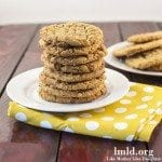 flourless peanut butter cookie square