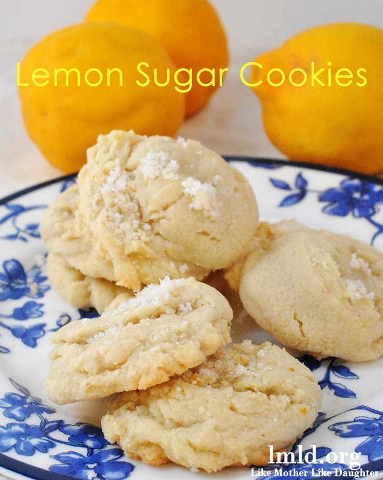 lemon sugar cookies1