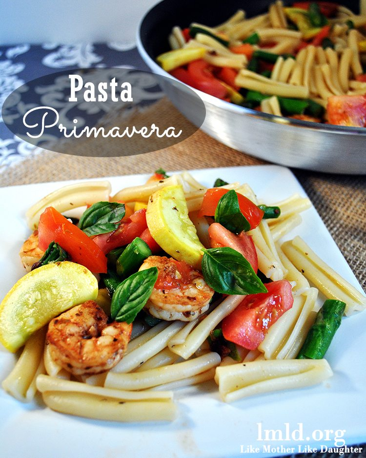 Pasta Primavera Recipe — Dishmaps