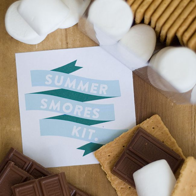 Summer S'mores Kit (Guest Post by Sara From Confetti Sunshine)
