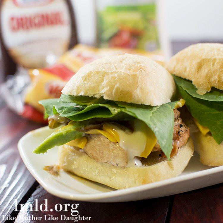 Budget Friendly BBQ Ranch Chicken Sandwich