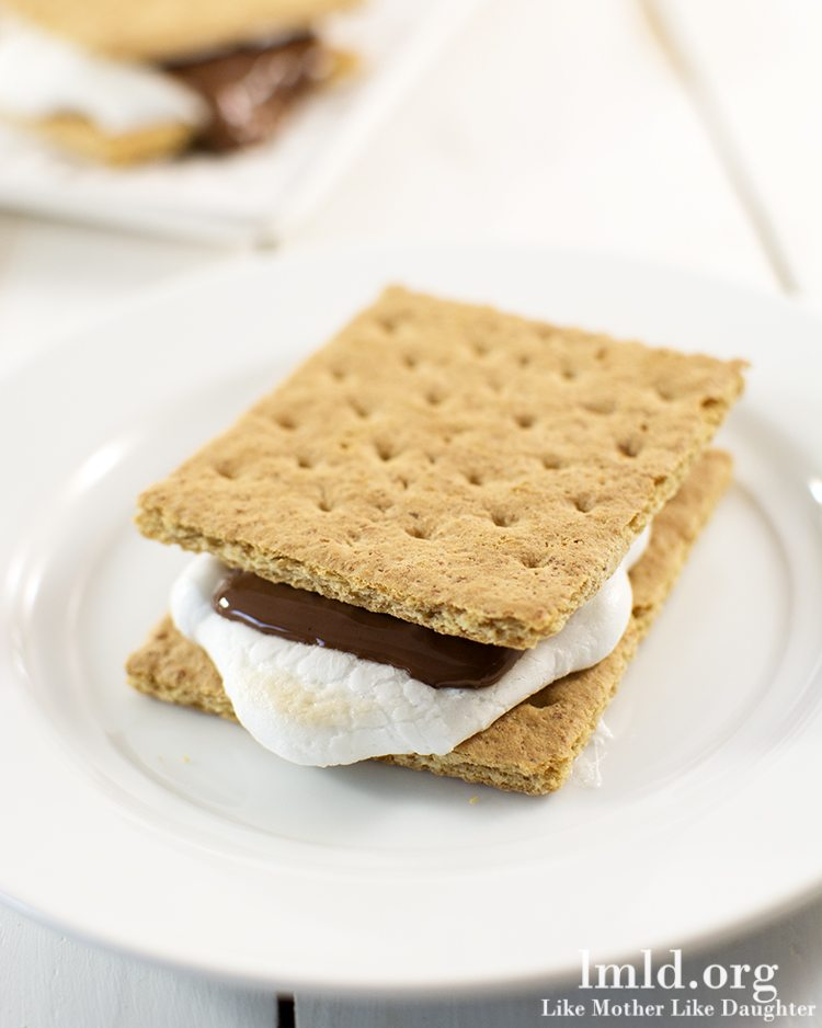 How+to+Make+S'mores+Indoors How to make indoor s'mores » Lolly Jane