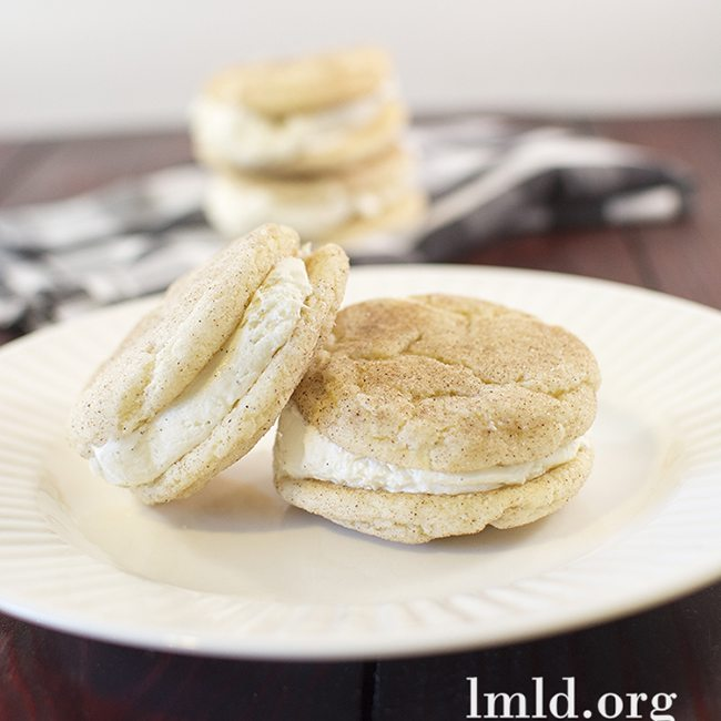 snickerdoodle ice cream sandwiches3square