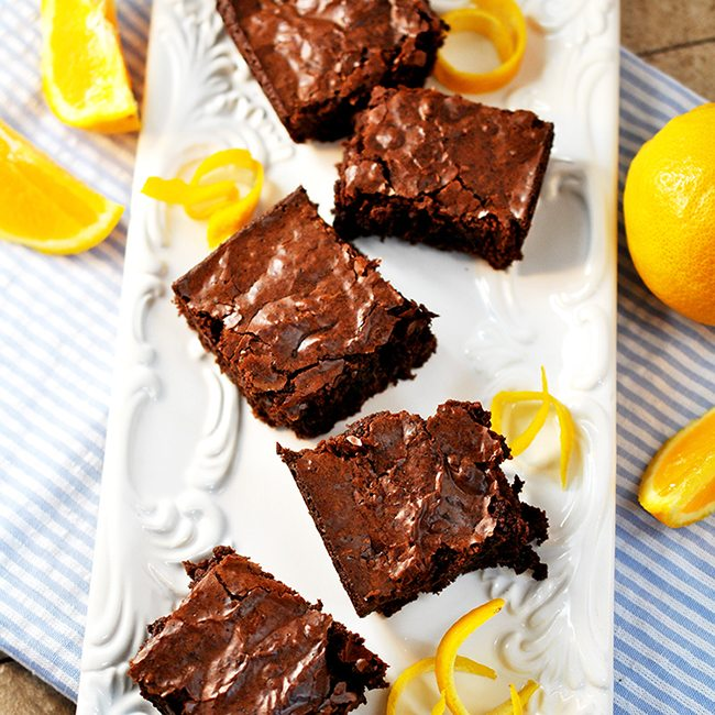 Orange Brownies