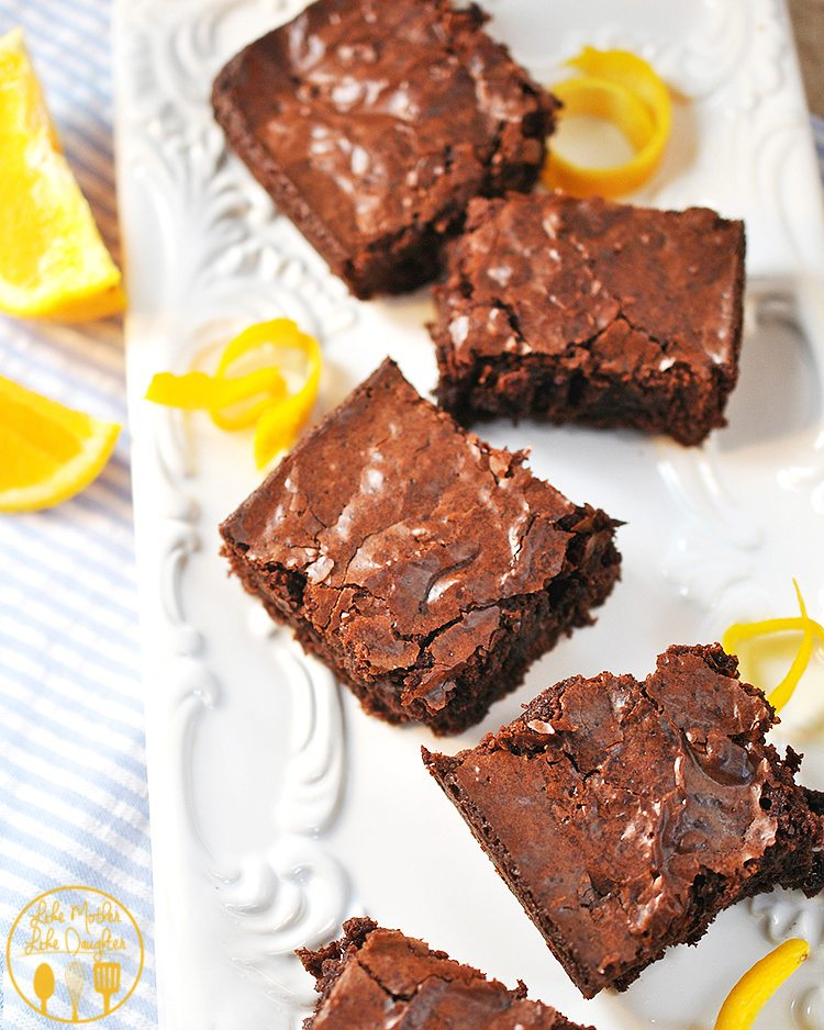 Orange BrowniesA