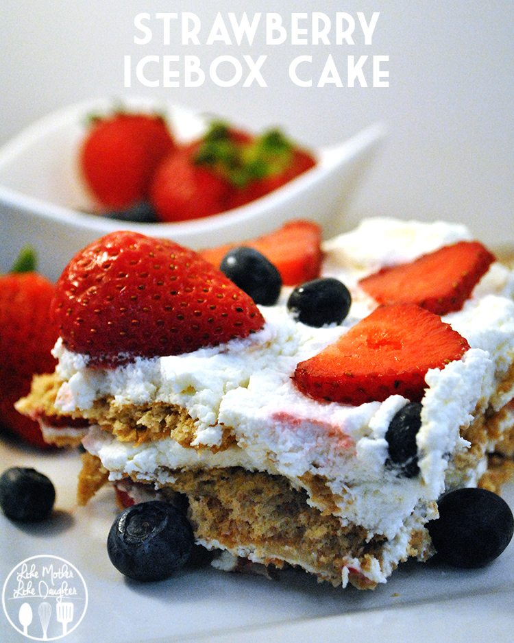 Strawberry Icebox Cake2