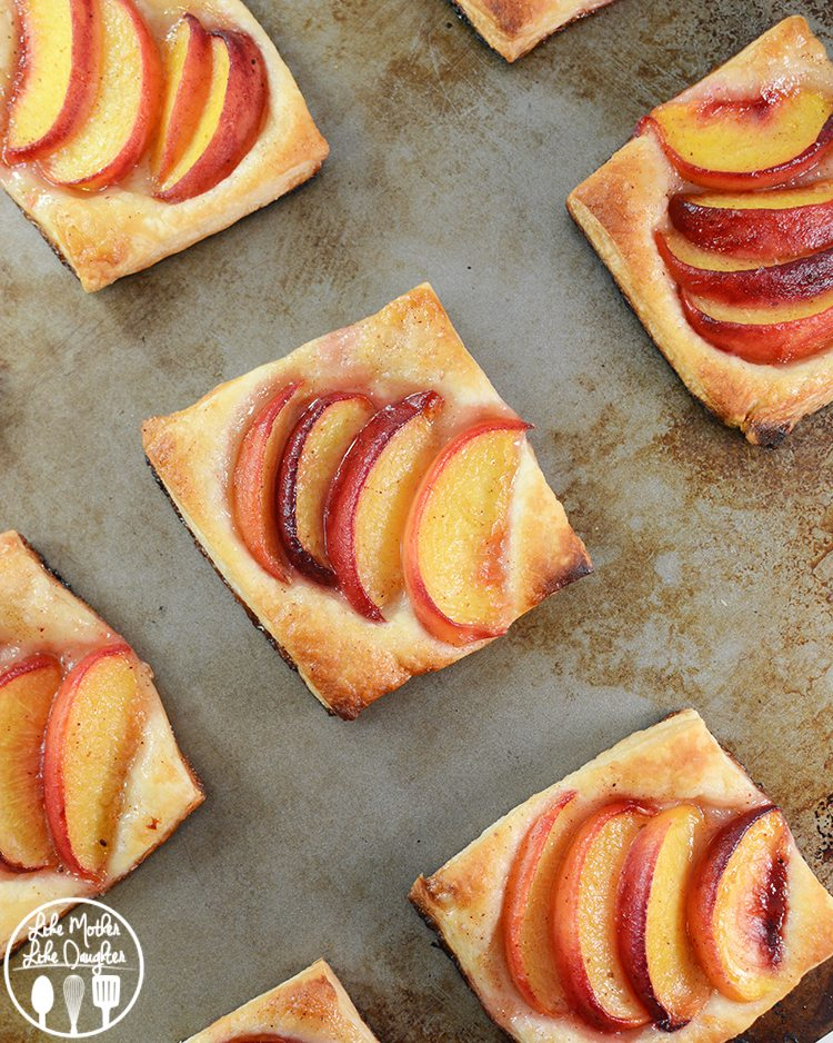 Peach Tart - Like Mother Like Daughter