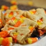 Candy Corn Peanut Butter Bars
