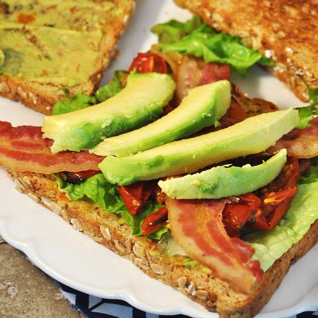 Roasted Tomato BLAT Sandwich