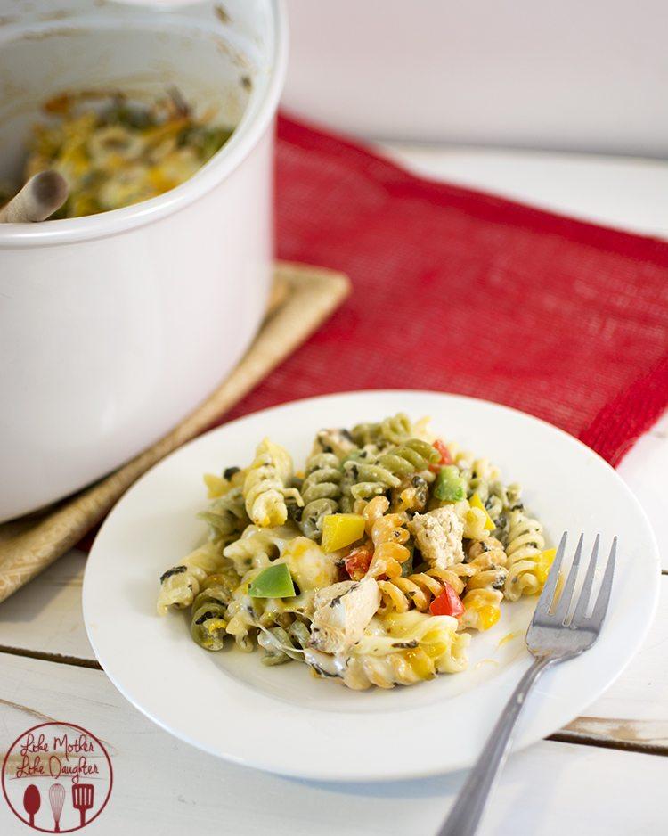 spinach dip pasta 3