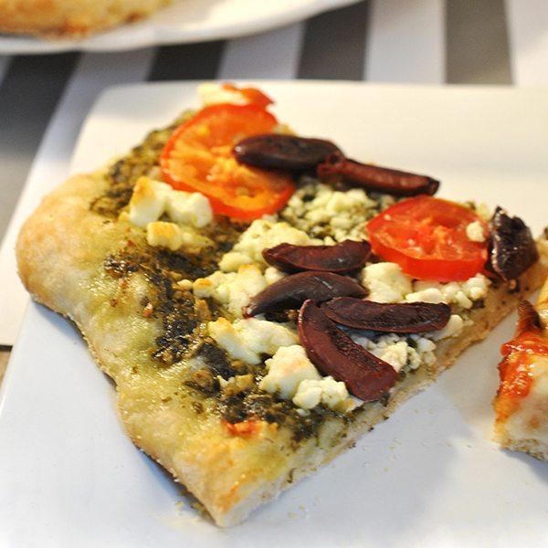 Mediterranean Mini Pizzas