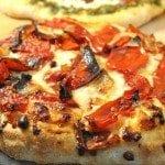 Roasted Tomato Mini Pizzas