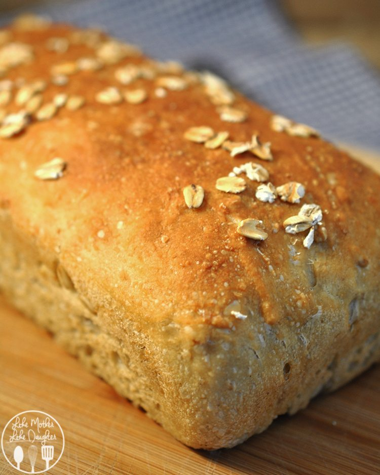 Oat Flour Bread - Like Mother, Like Daughter