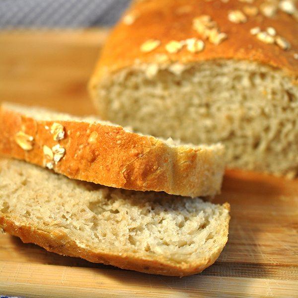Oat Flour Bread - Like Mother, Like Daughter