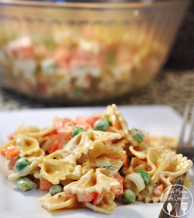 Vegetable Pasta Salad4