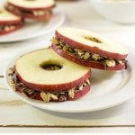 Apple Snack Sandwiches