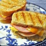 Grilled Club Sandwich
