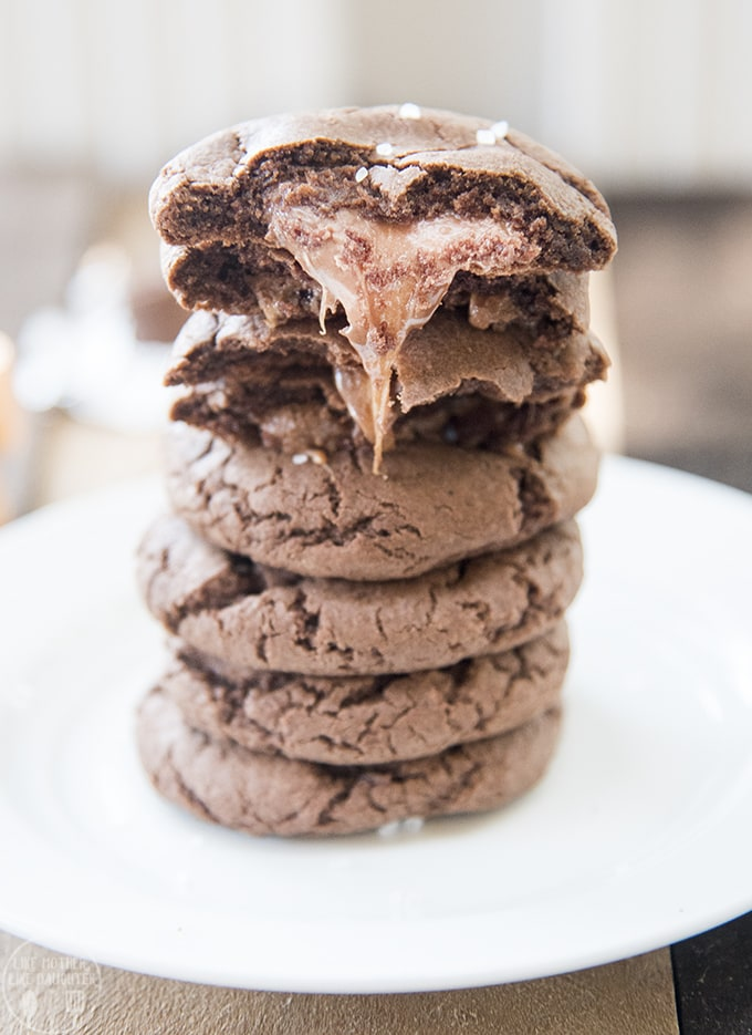 Cake Mix Cookies With Rolos In The Middle