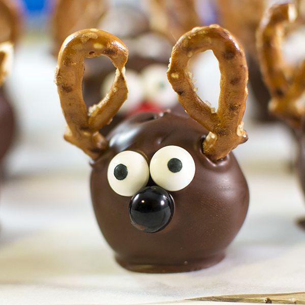 Reindeer Oreo Cookie Balls