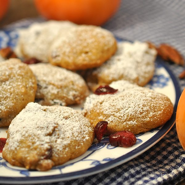 Persimmon Cookies - Like Mother, Like Daughter