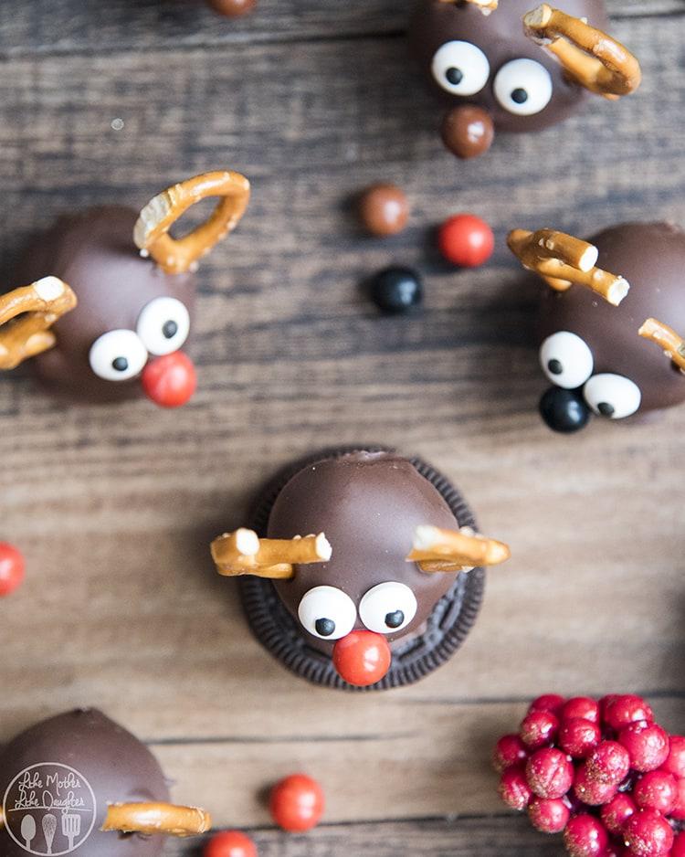 Reindeer Oreo Truffles