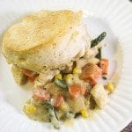 Campbell's Biscuit Chicken Pot Pie